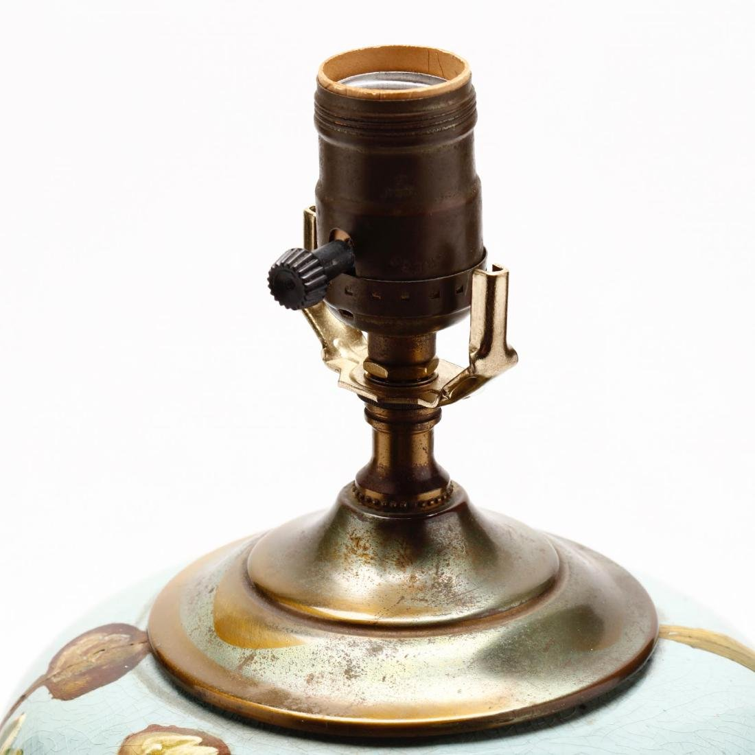 Vintage Art Pottery Lamp - 4