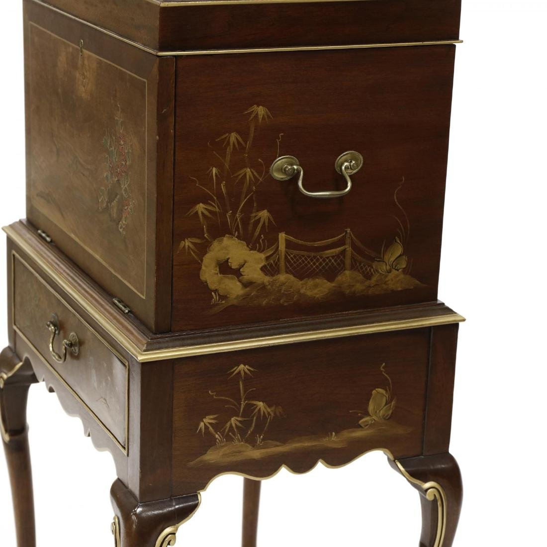 Hickory Chair Co., Queen Anne Style Chinoiserie - 5