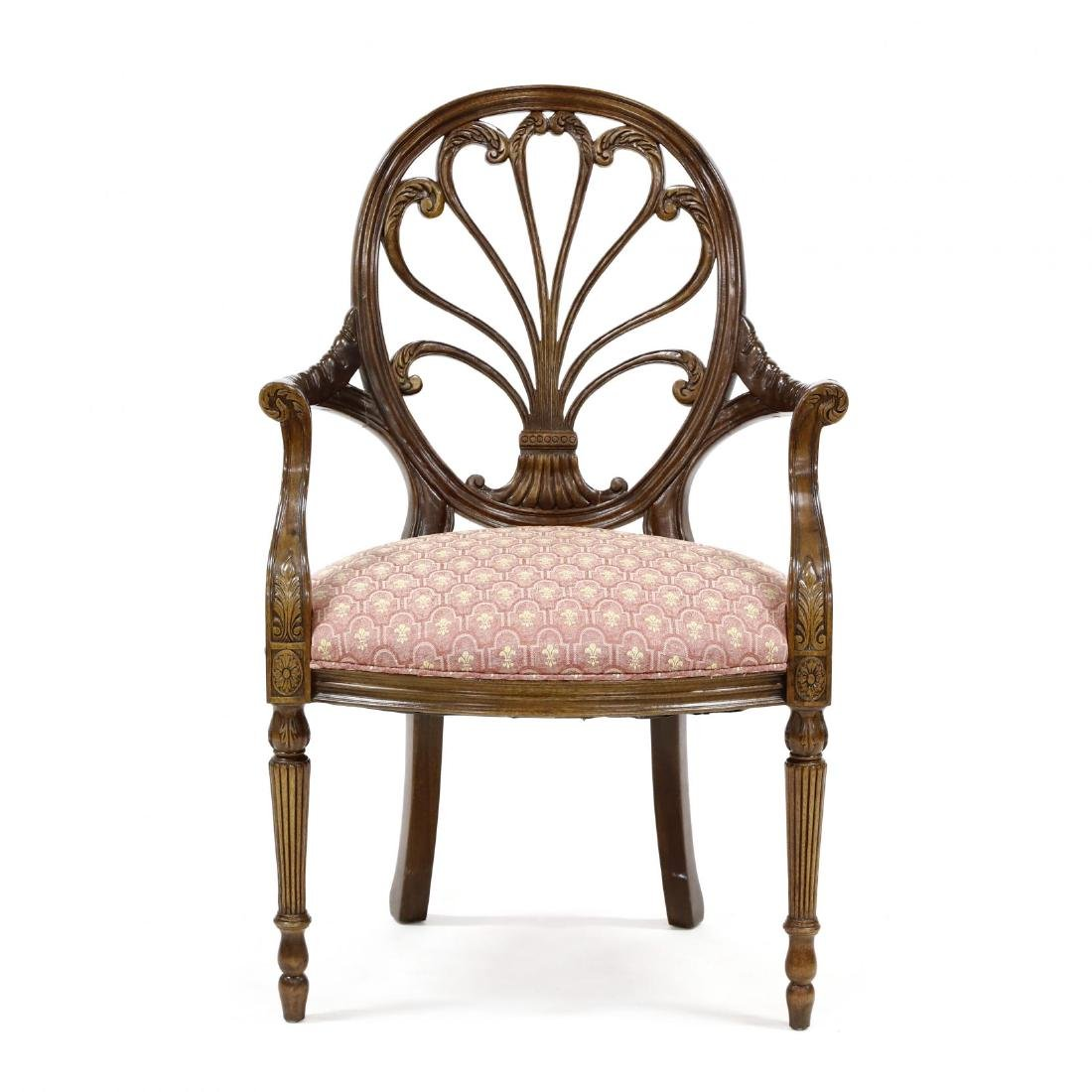 Hickory Chair Co., Regency Style Armchair
