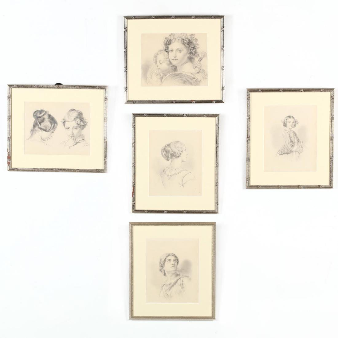 Peter Calvi, Jr. (NY, 1860-1926), Five Sketches of