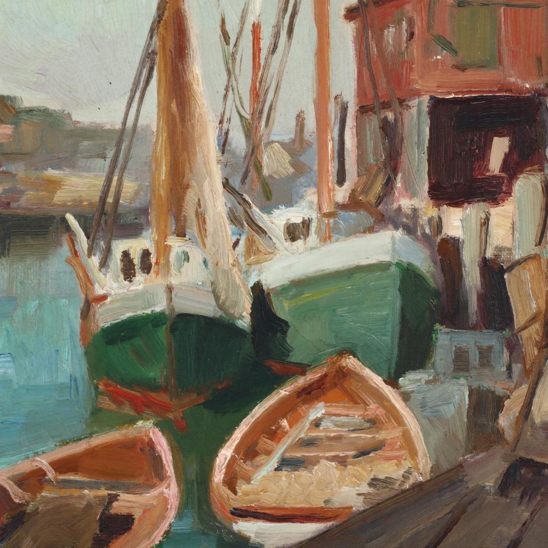 Caroline M. Bell (NY, 1874-1970), Harbor Scene - 2
