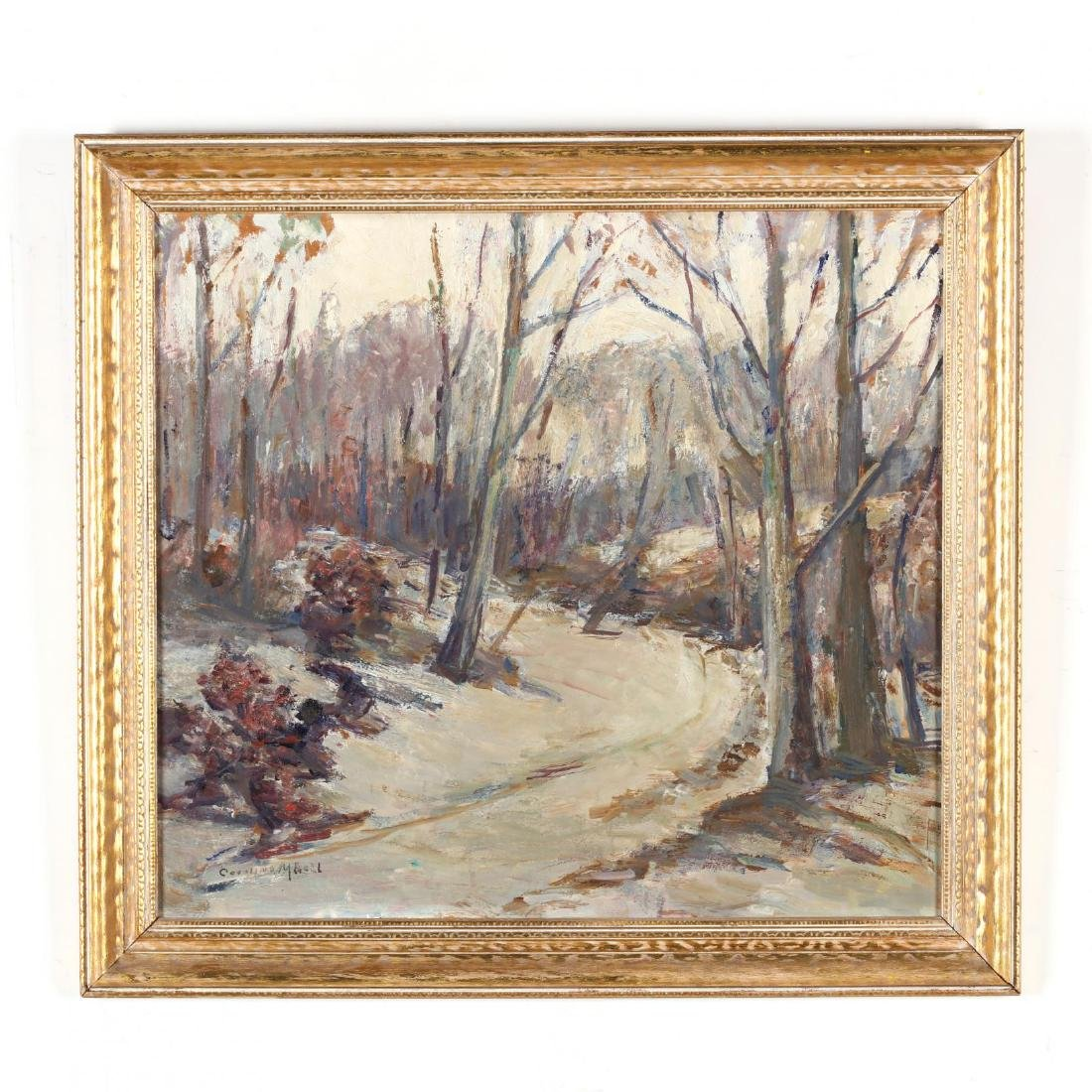 Caroline M. Bell (NY, 1874-1970), Winter Landscape