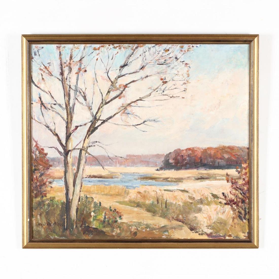 Caroline M. Bell (NY, 1874-1970), Autumn Landscape