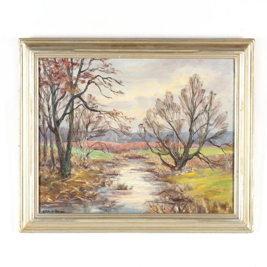Helen Kroeger (NY, 1892-1986),  Swamp in November