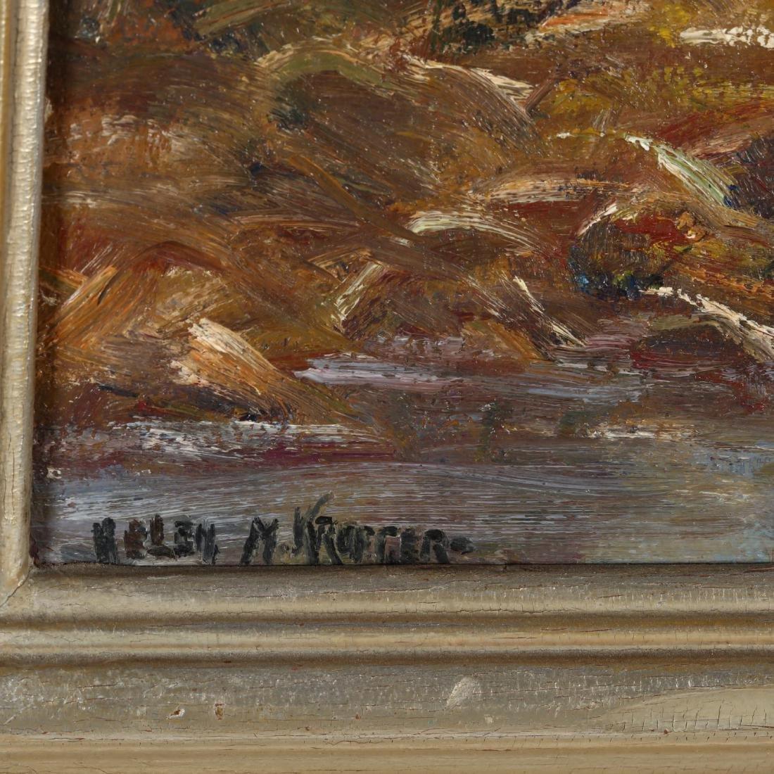 Helen Kroeger (NY, 1892-1986),  Swamp in November - 2