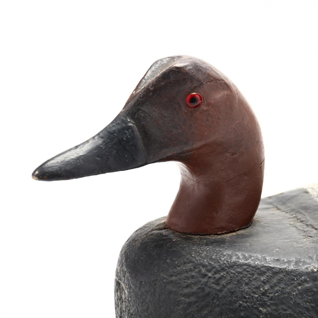 Vintage Carved and Painted Duck Decoy - 2