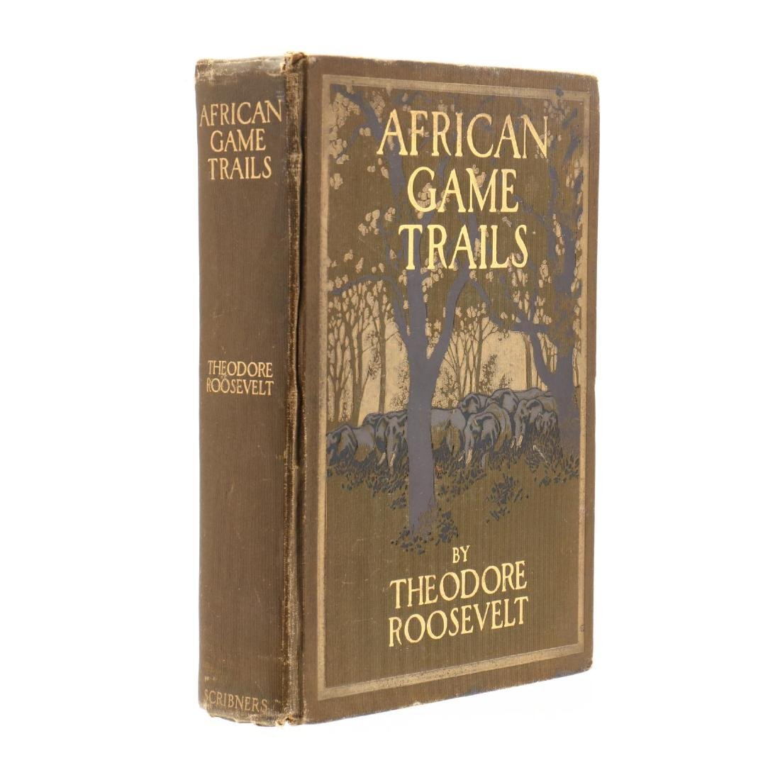 Roosevelt, Theodore.  African Game Trails - 2