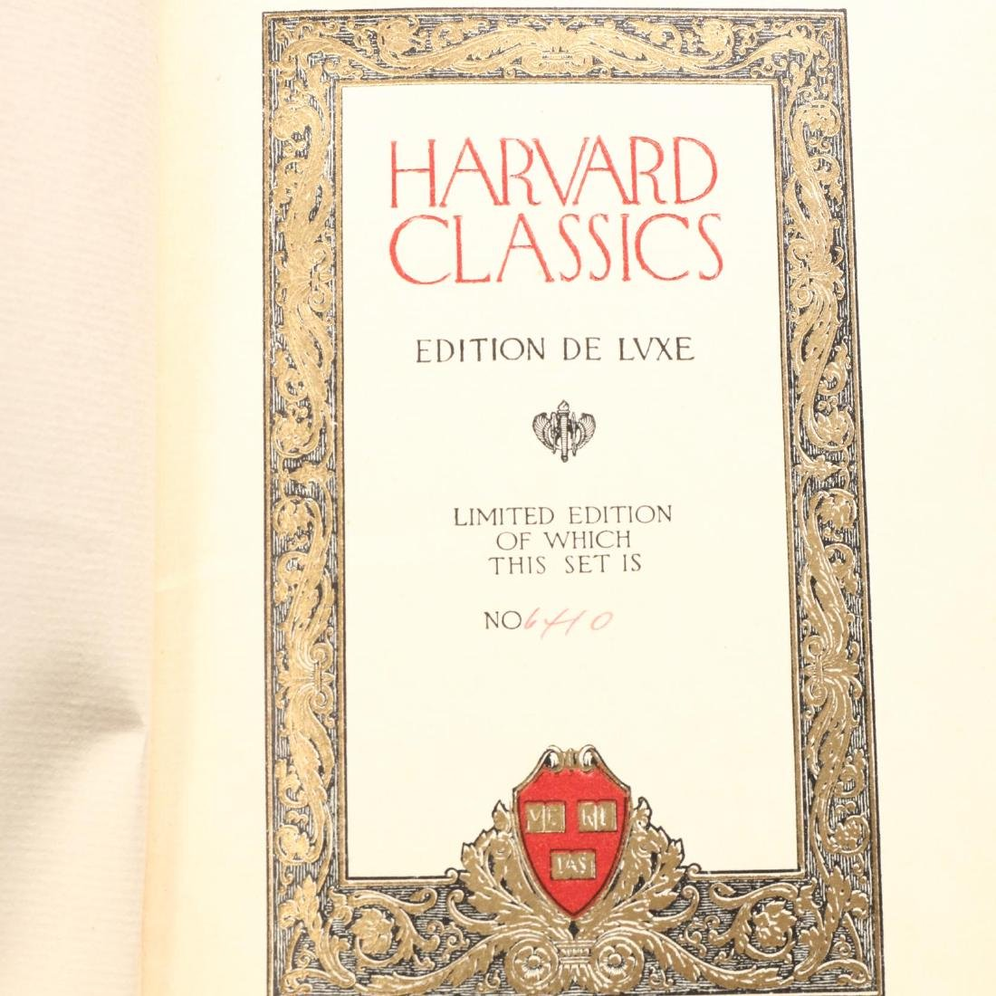 50 Volumes of  The Harvard Classics  and One Volume of - 2