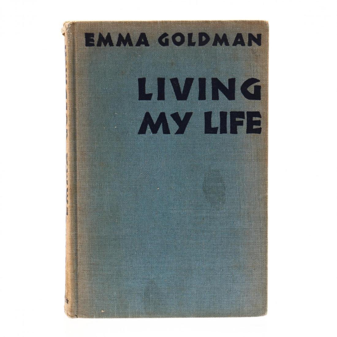 Goldman, Emma.  Living My Life - 2