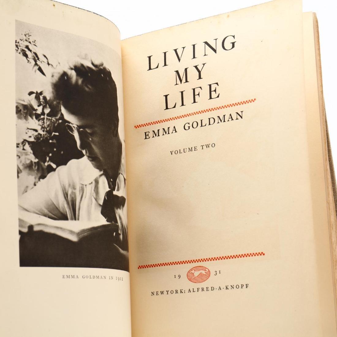 Goldman, Emma.  Living My Life - 6