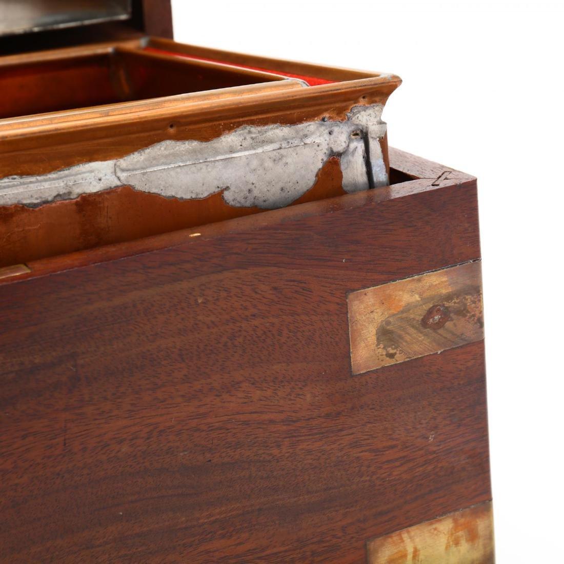 Vintage Benson & Hedges Brass Bound Humidor - 4
