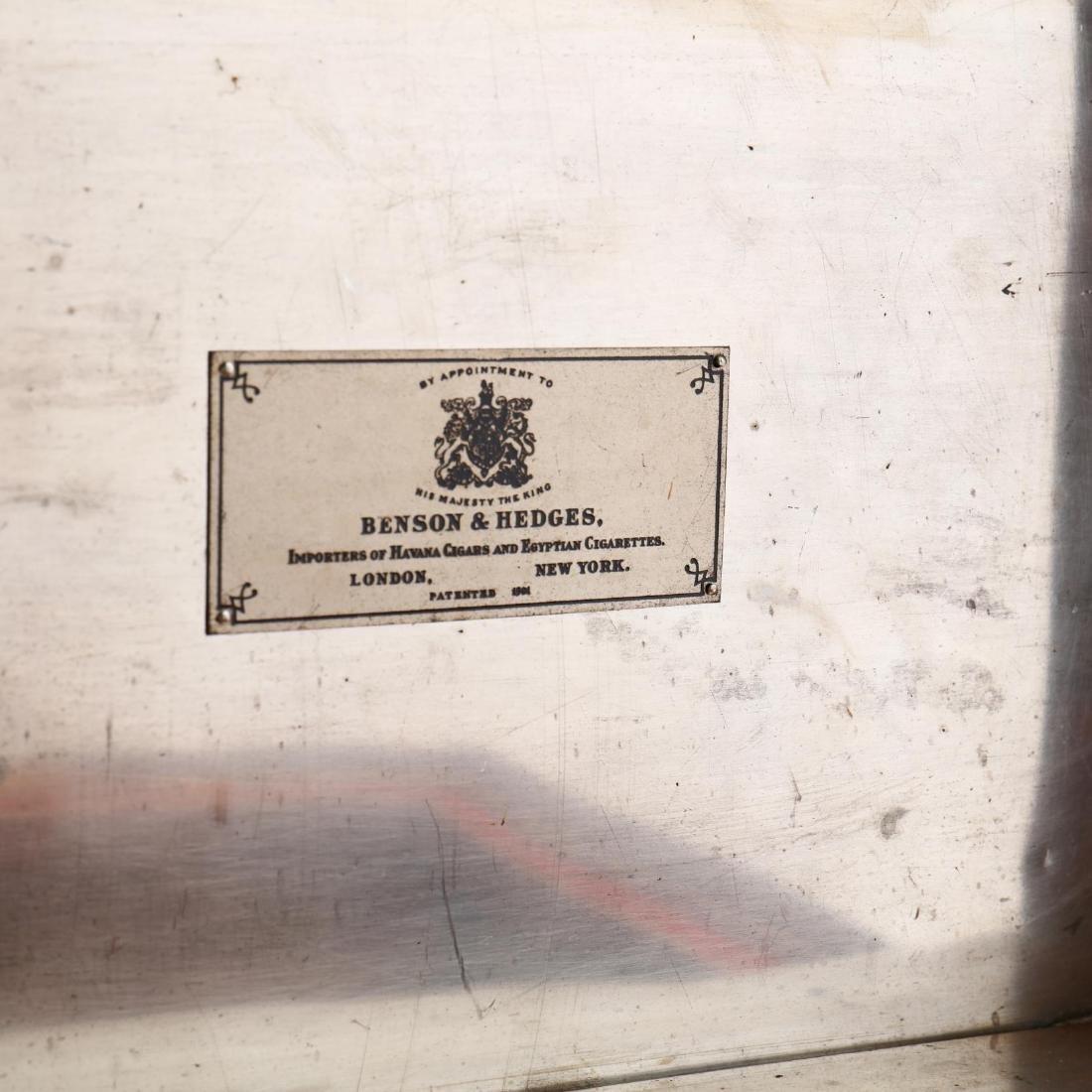 Vintage Benson & Hedges Brass Bound Humidor - 5