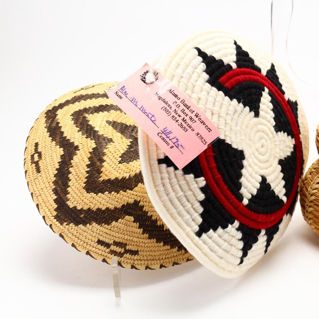 Five Native American Baskets - 2