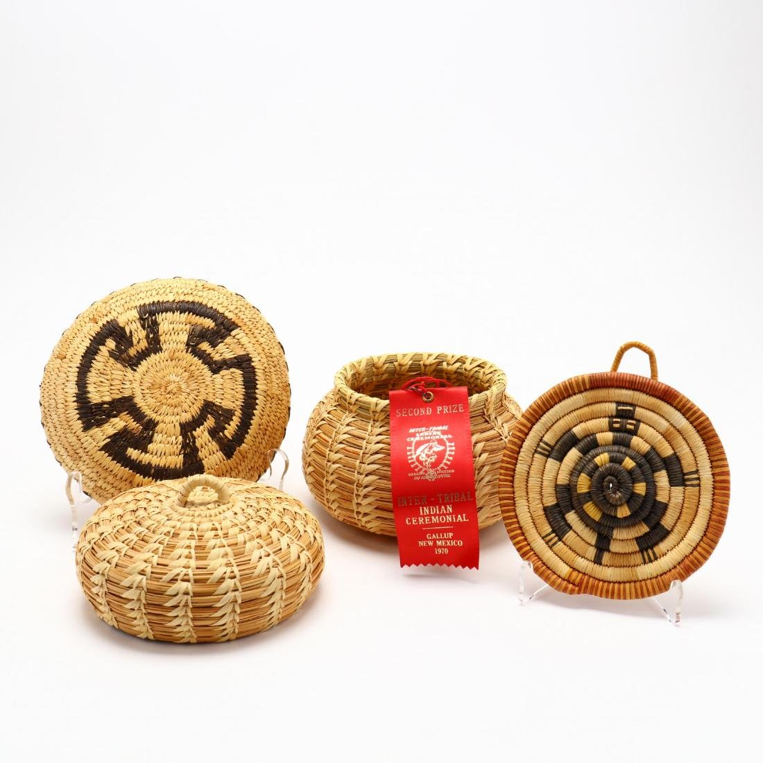 Five Native American Baskets - 3