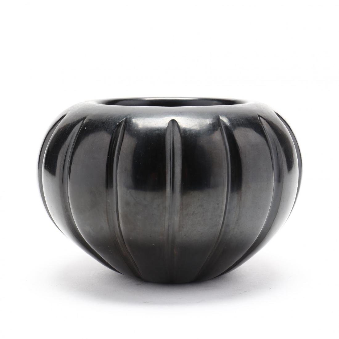 Angela Baca, Santa Clara, 1927-2014), Blackware Melon