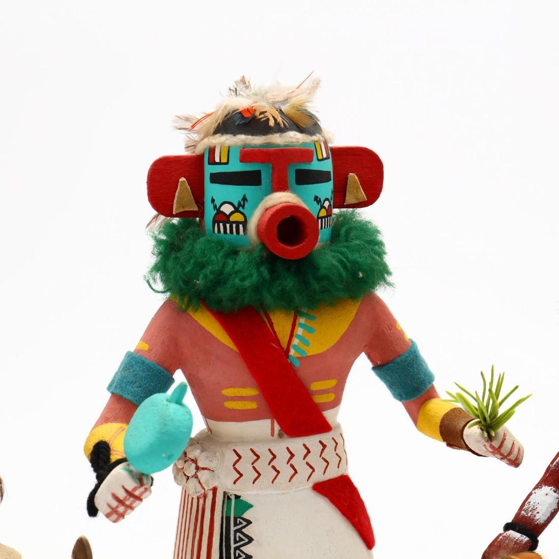 Four Hopi Katsina Dolls - 2