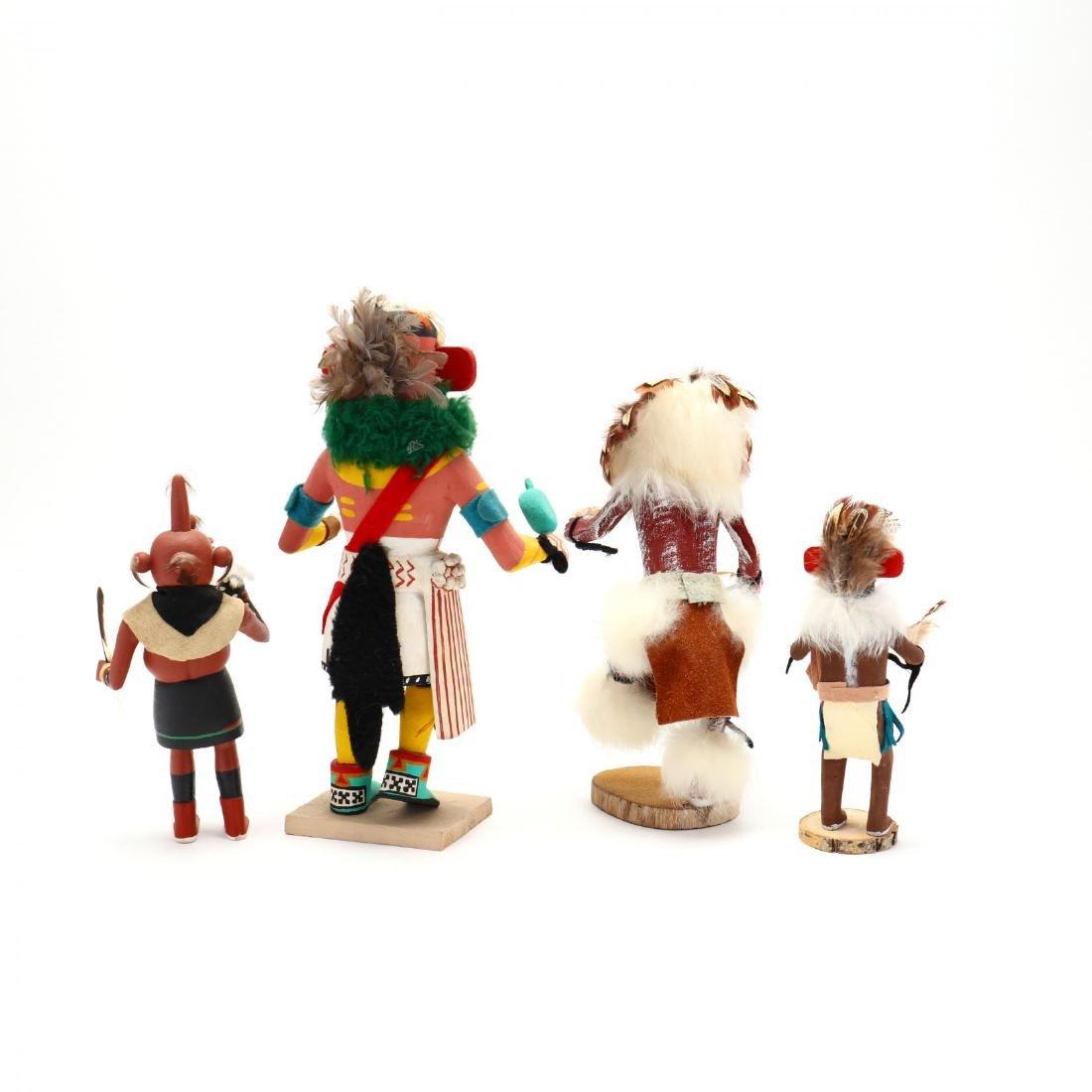 Four Hopi Katsina Dolls - 4
