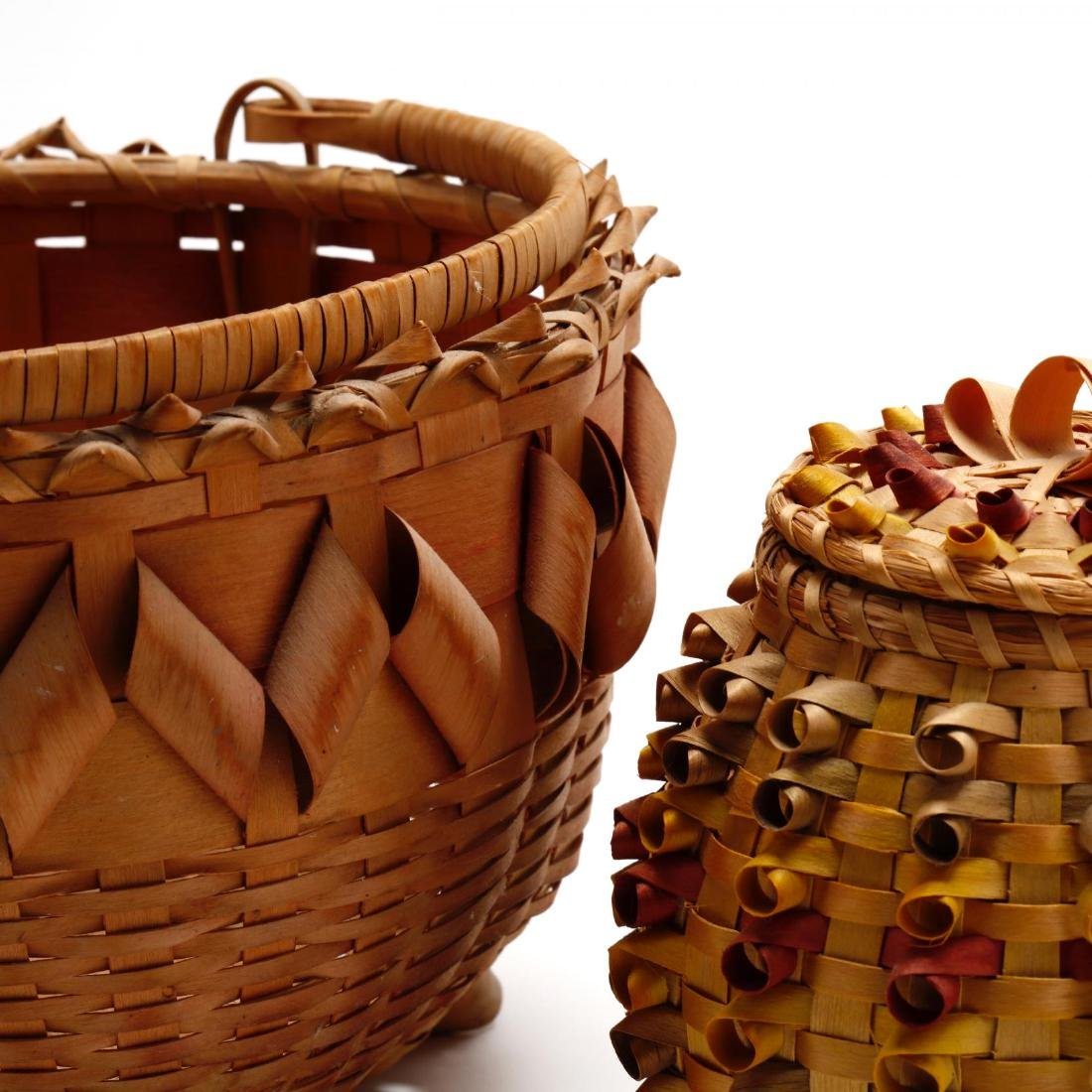 Two Native American Baskets - 4