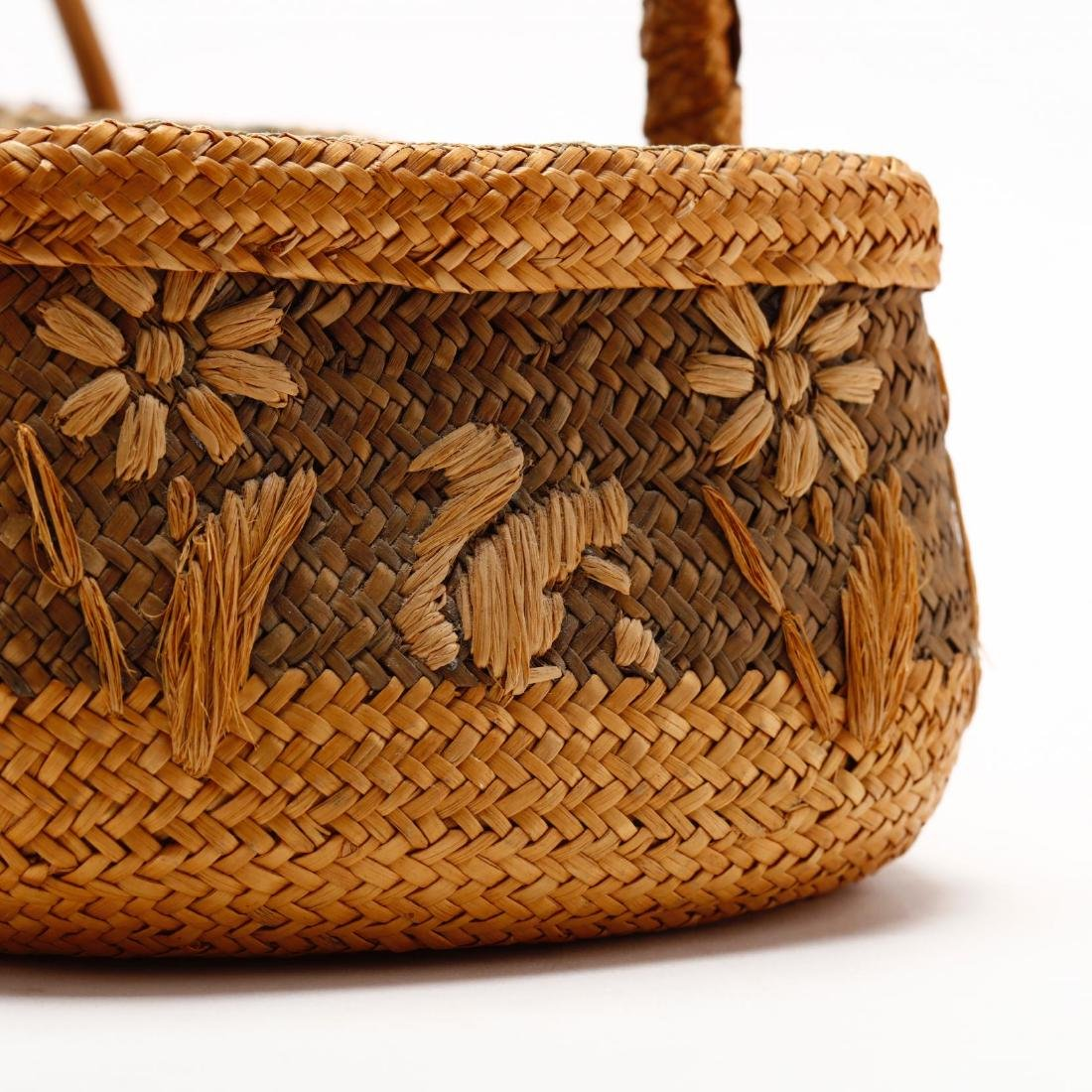 Two Vintage Native American Baskets - 2