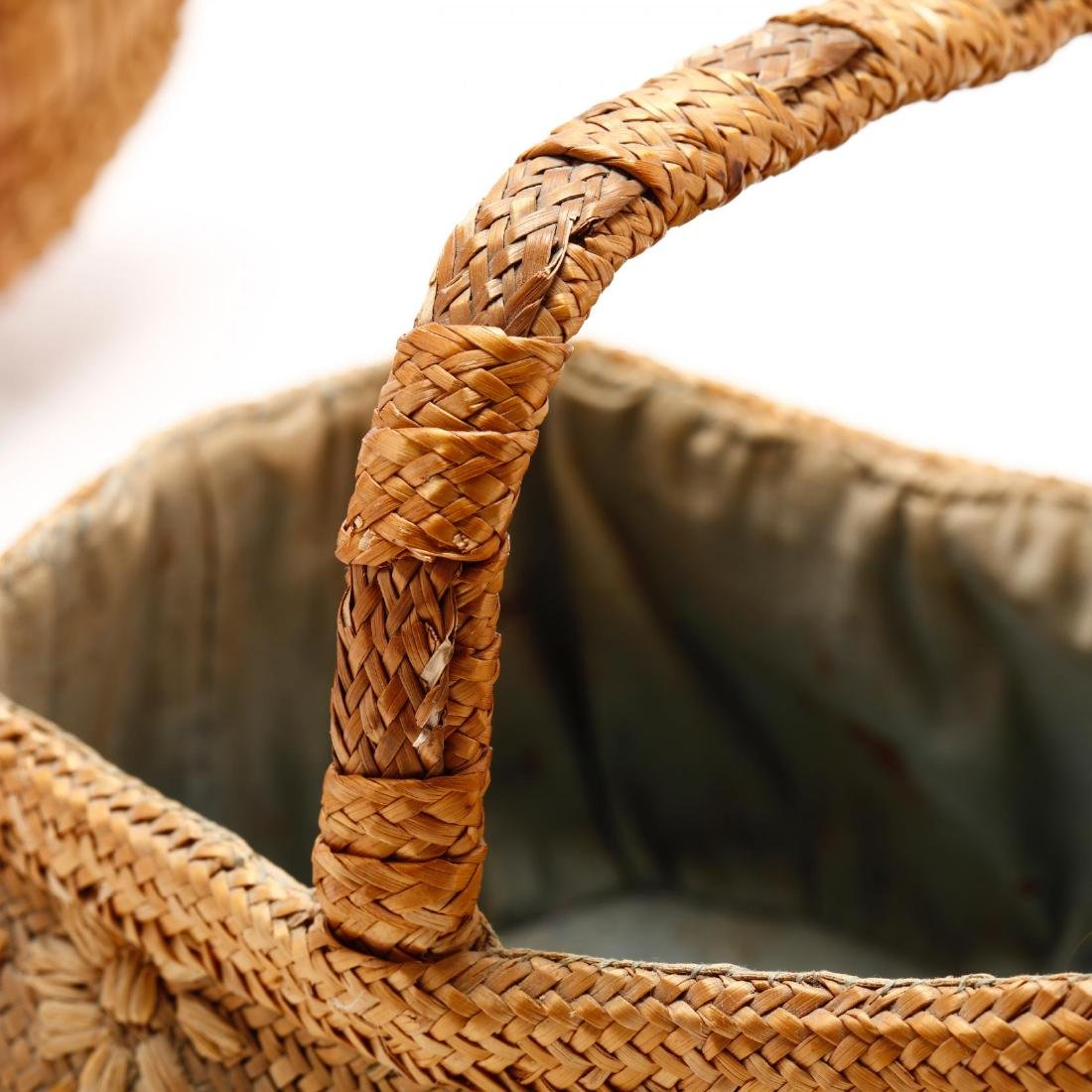 Two Vintage Native American Baskets - 3