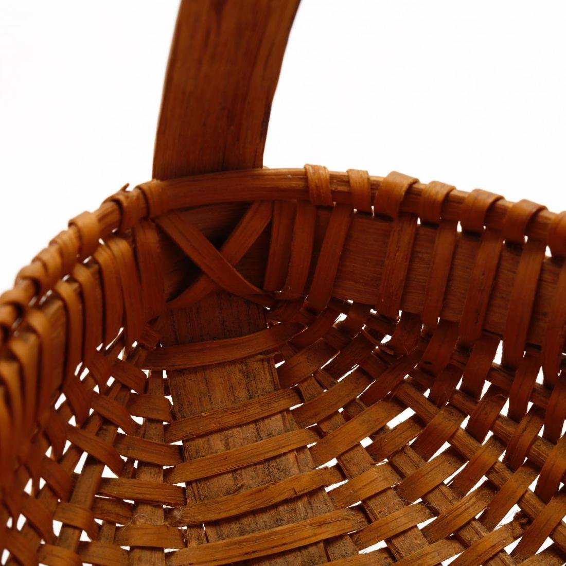 Two Vintage Native American Baskets - 7