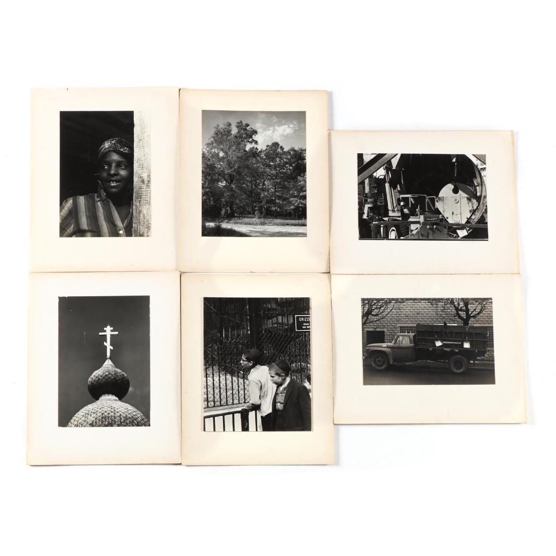 John Menapace (NC, 1927-2010), Six Photographs