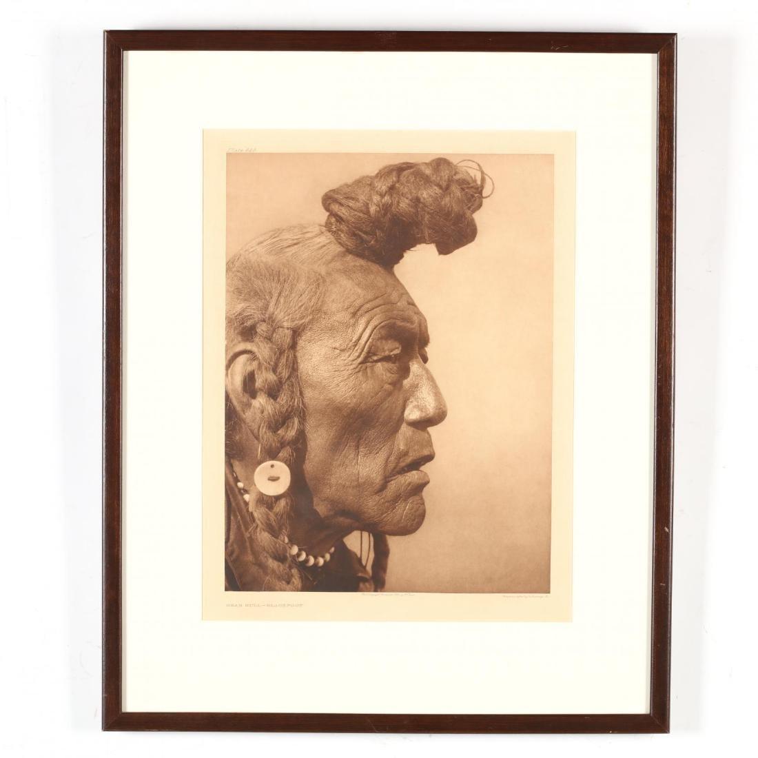 Edward S. Curtis (American, 1868-1952),  Bear Bull -