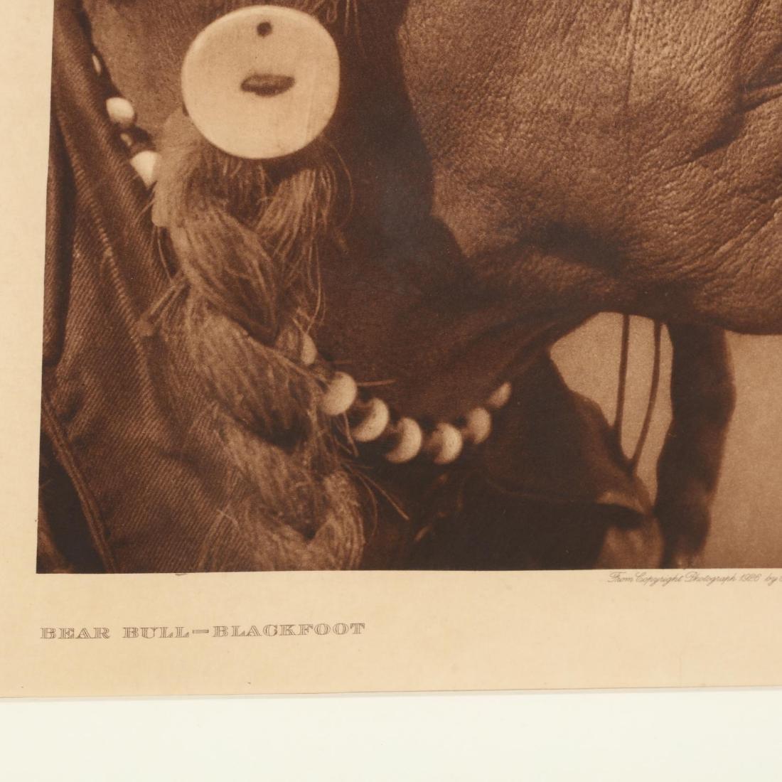 Edward S. Curtis (American, 1868-1952),  Bear Bull - - 2