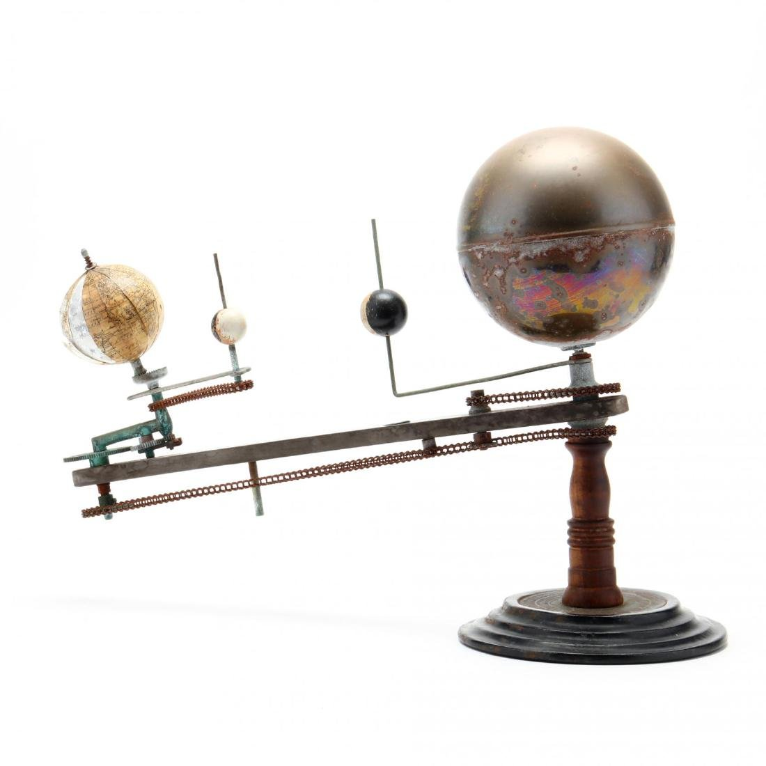 Unmarked Trippensee Planetarium Orrery