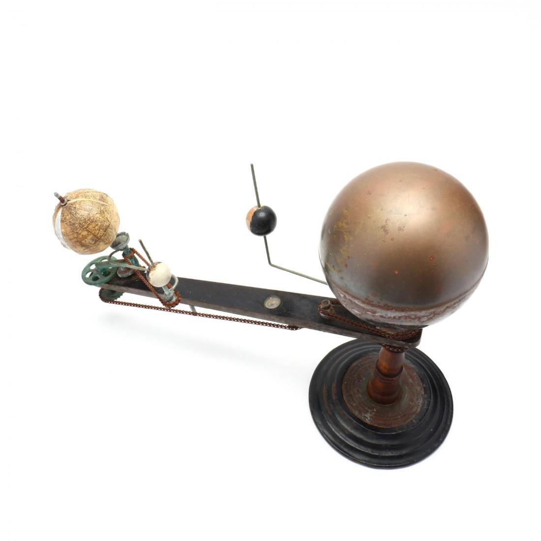 Unmarked Trippensee Planetarium Orrery - 3