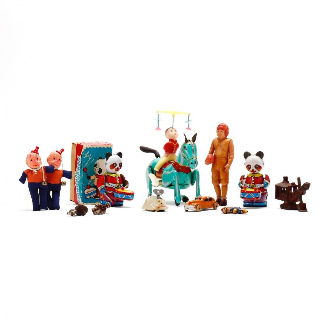 An Assortment Vintage Toys