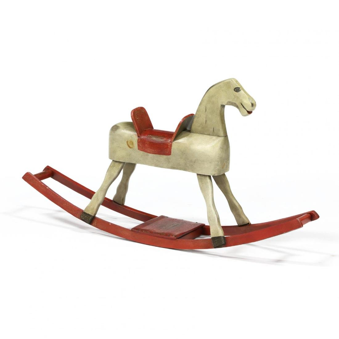 A Museum Reproduction Rocking Horse by Alan A. Woods