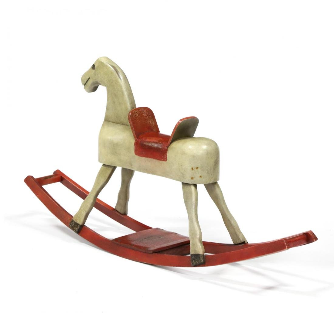 A Museum Reproduction Rocking Horse by Alan A. Woods - 2