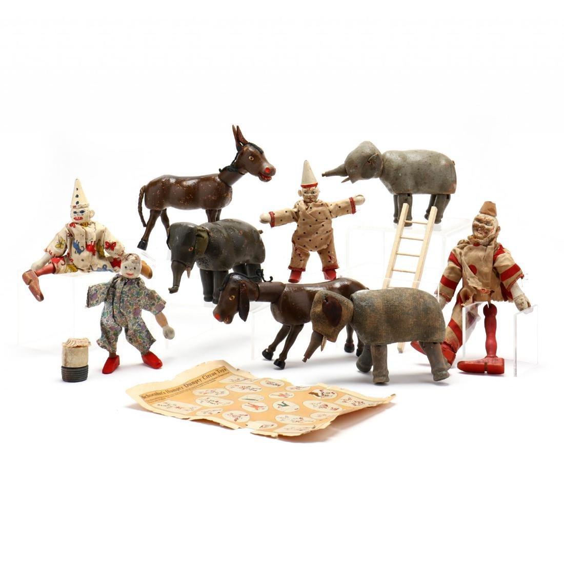 Schoenhut Circus Grouping