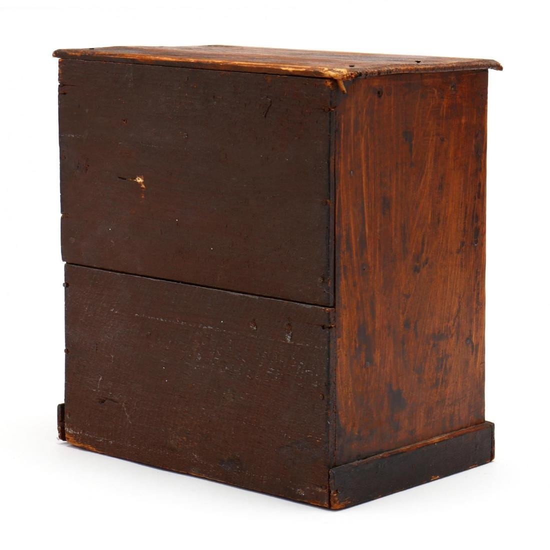 Antique Doll Sized Chest of Drawers - 2