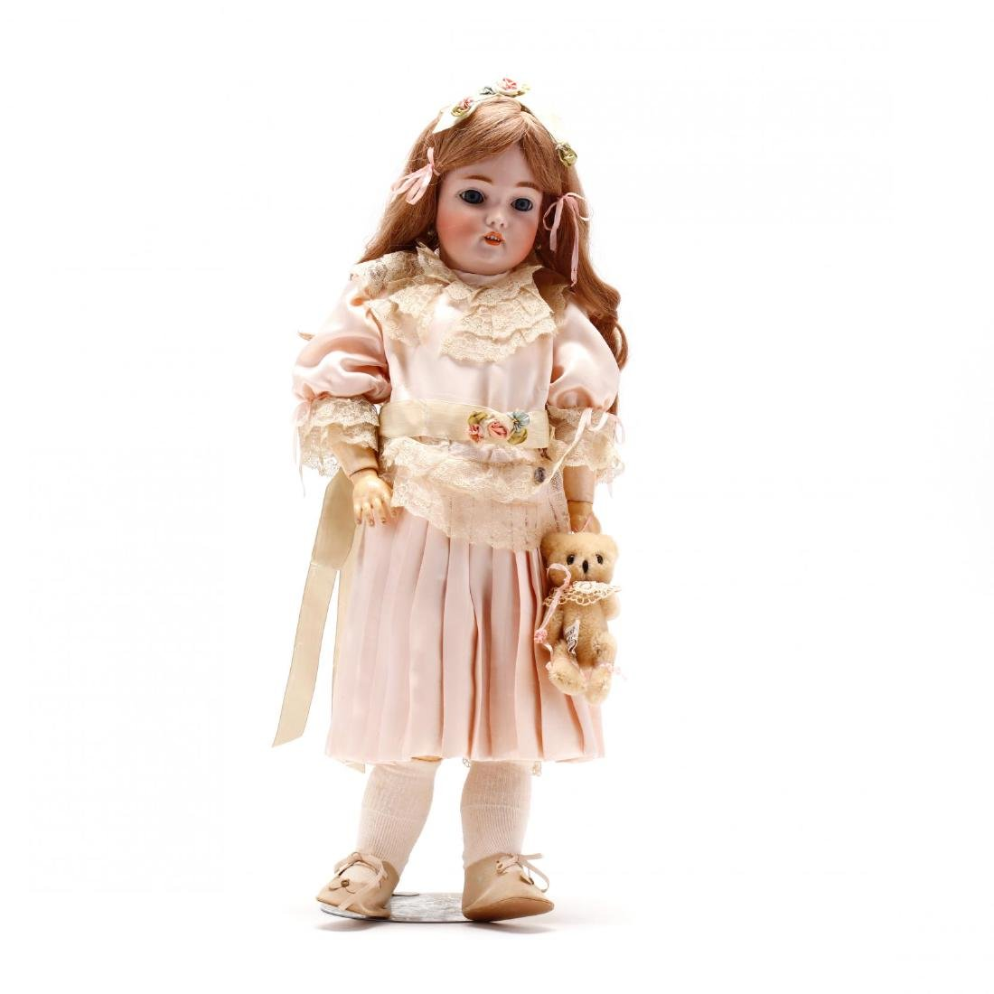 Antique C.M. Bergmann / Simon & Halbig Doll