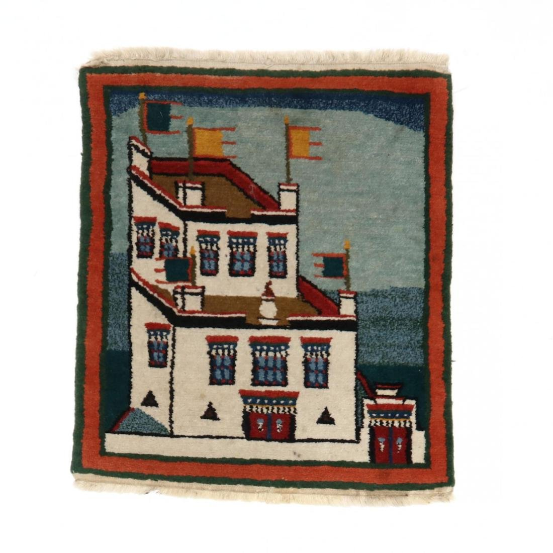 Small Pictorial Rug