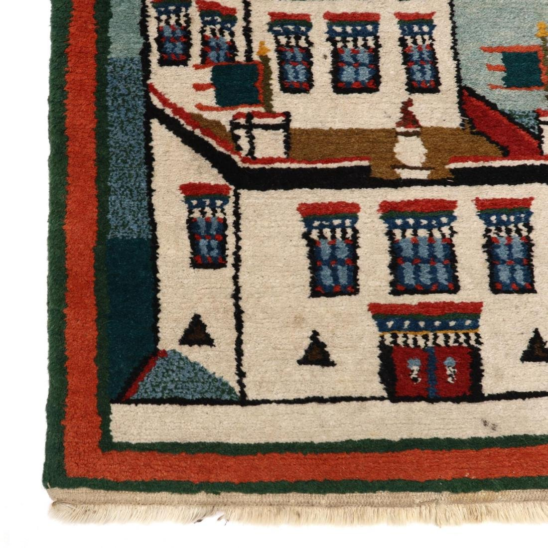 Small Pictorial Rug - 2