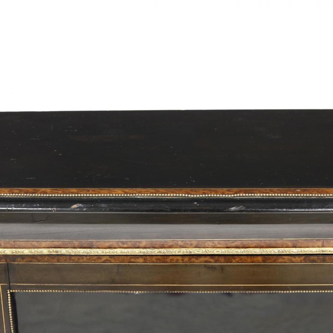 Edwardian Inlaid Credenza - 5
