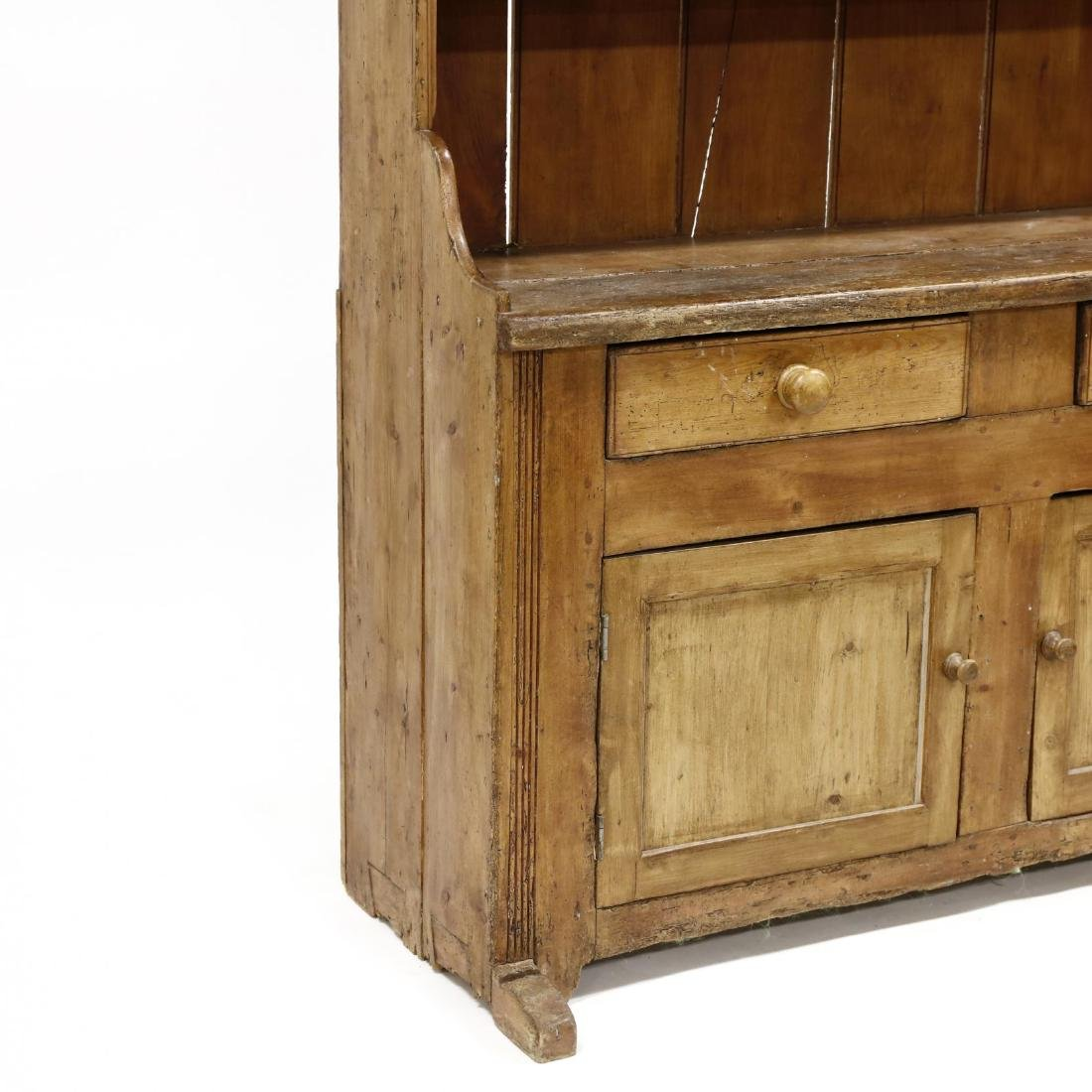 Antique Continental Flatwall Cupboard - 2