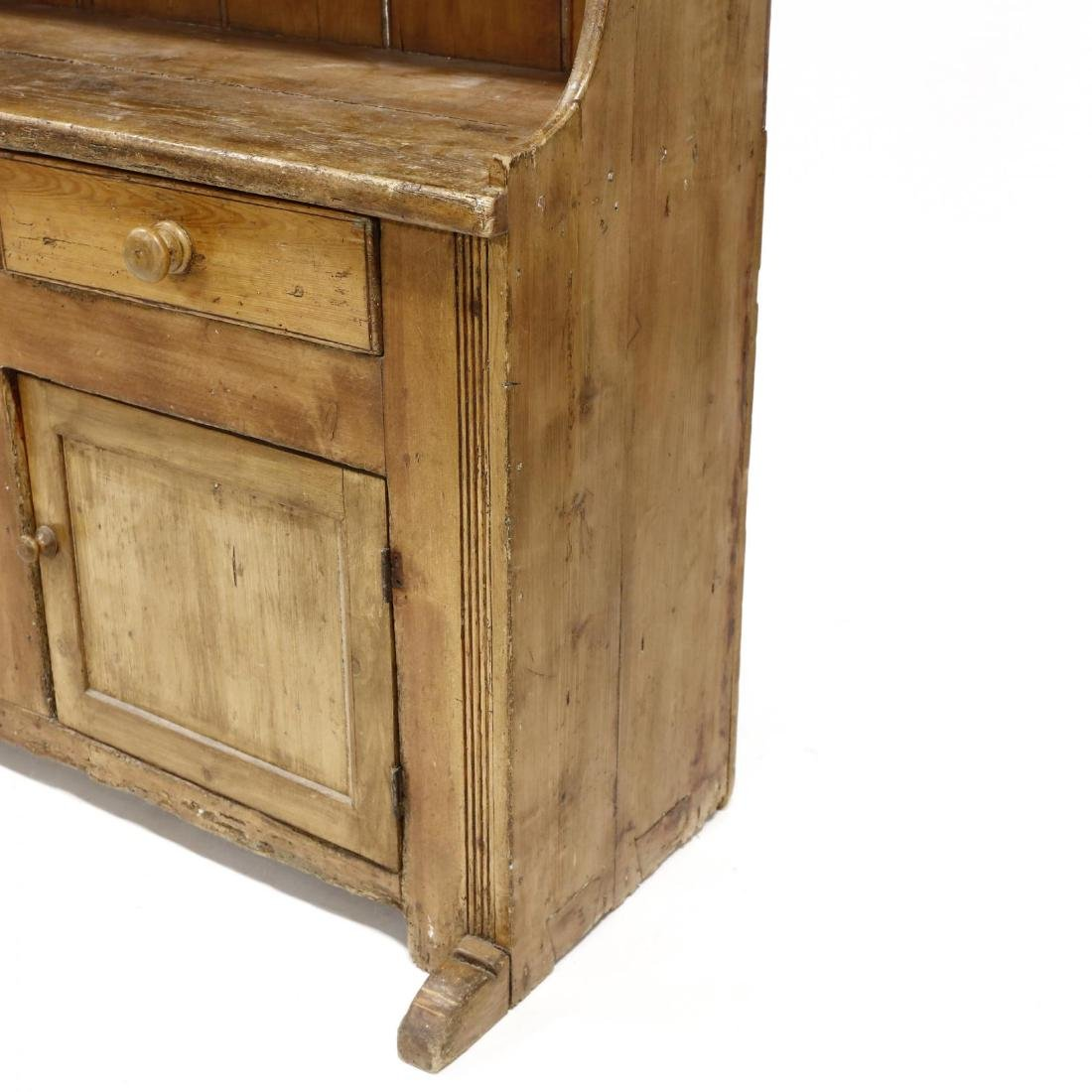 Antique Continental Flatwall Cupboard - 4
