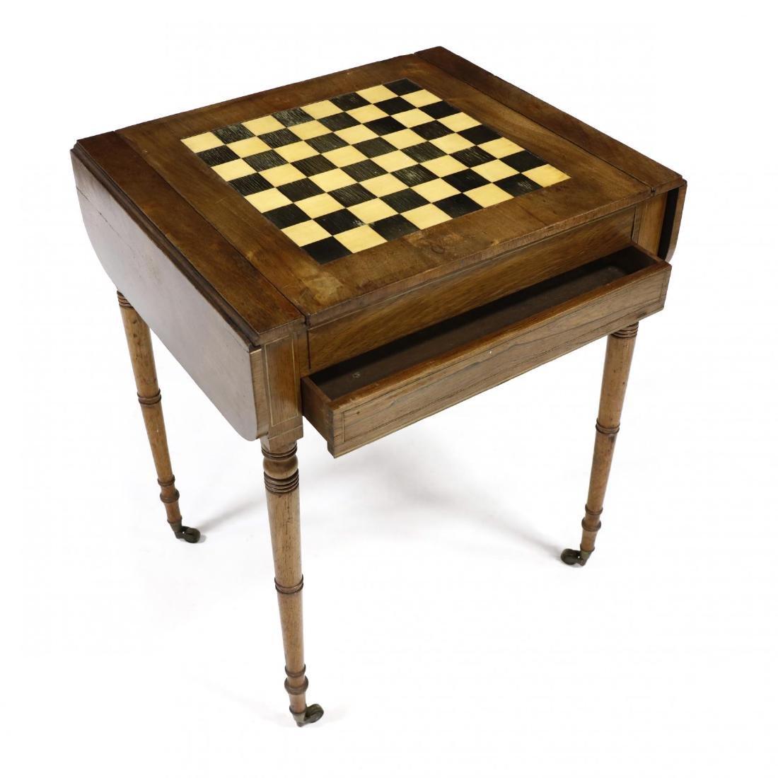 English Regency Game Table - 2