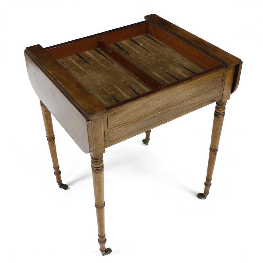 English Regency Game Table - 3