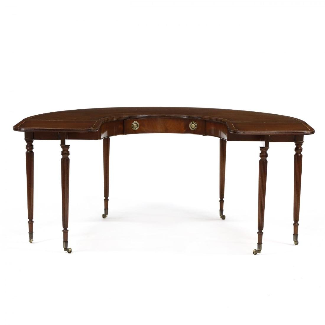 Federal Style Inlaid Wine Tasting Table - 5