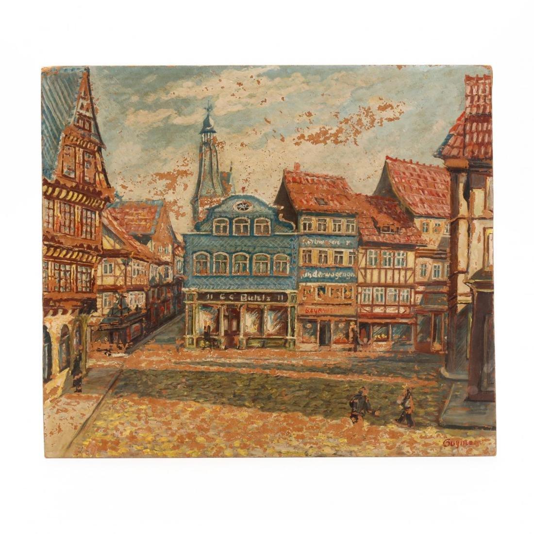 A Vintage German Street Scene