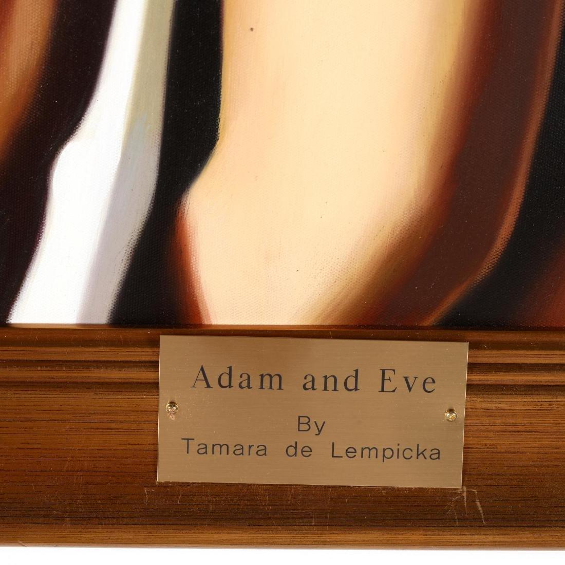 after Tamara de Lempicka,  Adam and Eve - 2