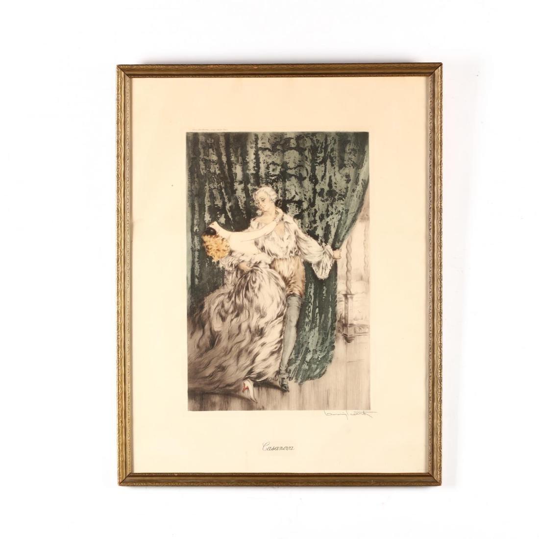 Louis Icart (French, 1888-1950),  Casanova