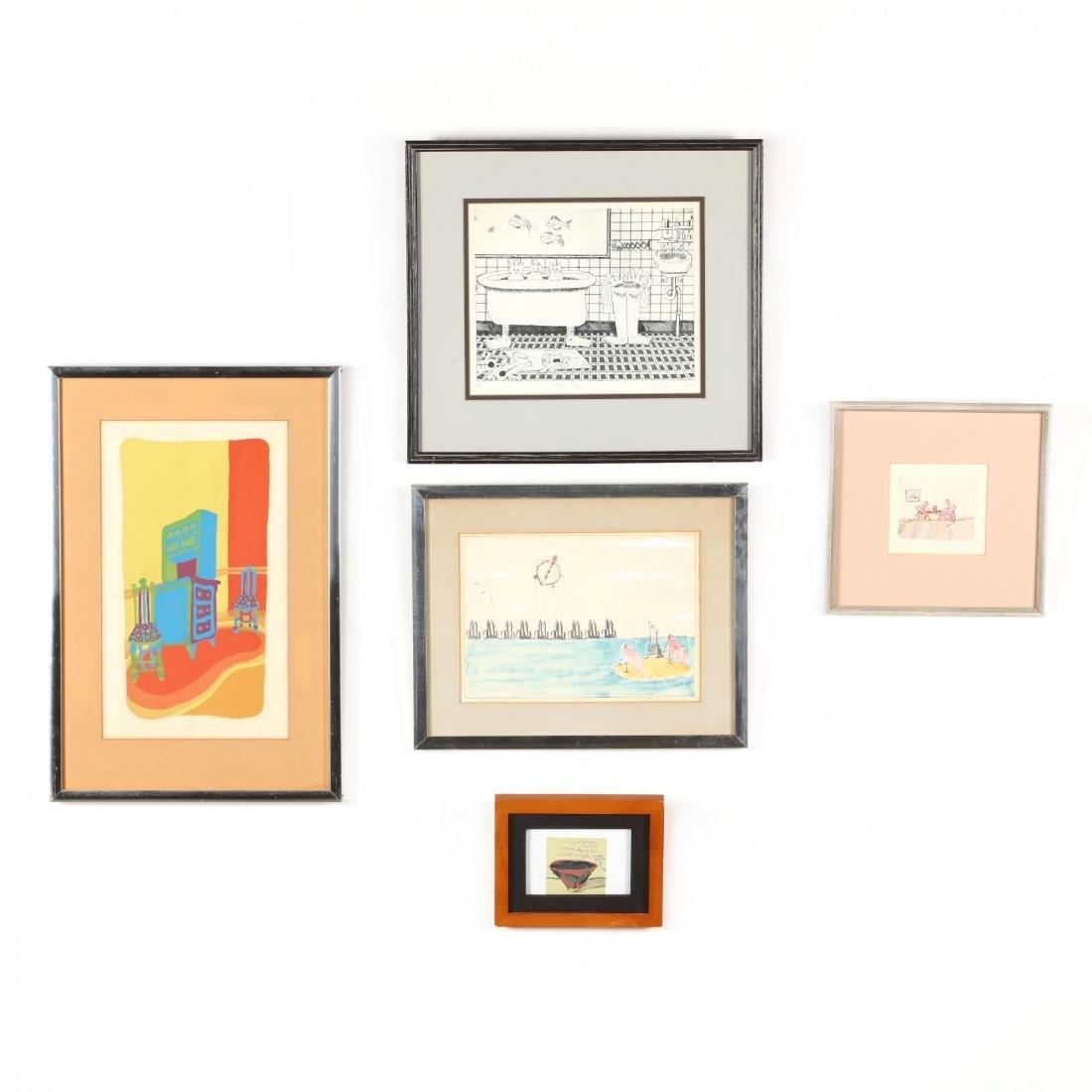 Five 20th-Century Prints