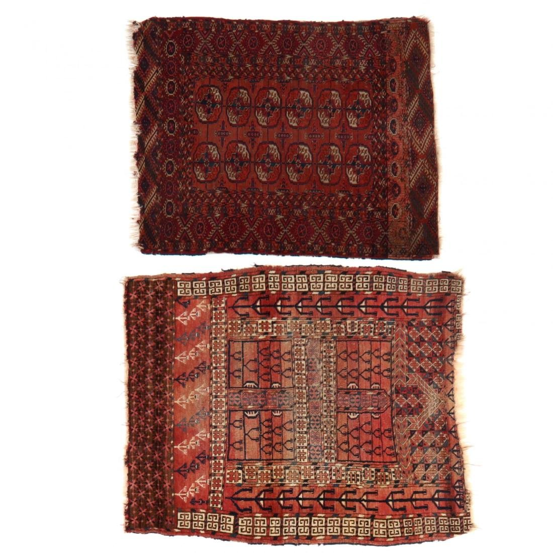 Two Turkman Rugs