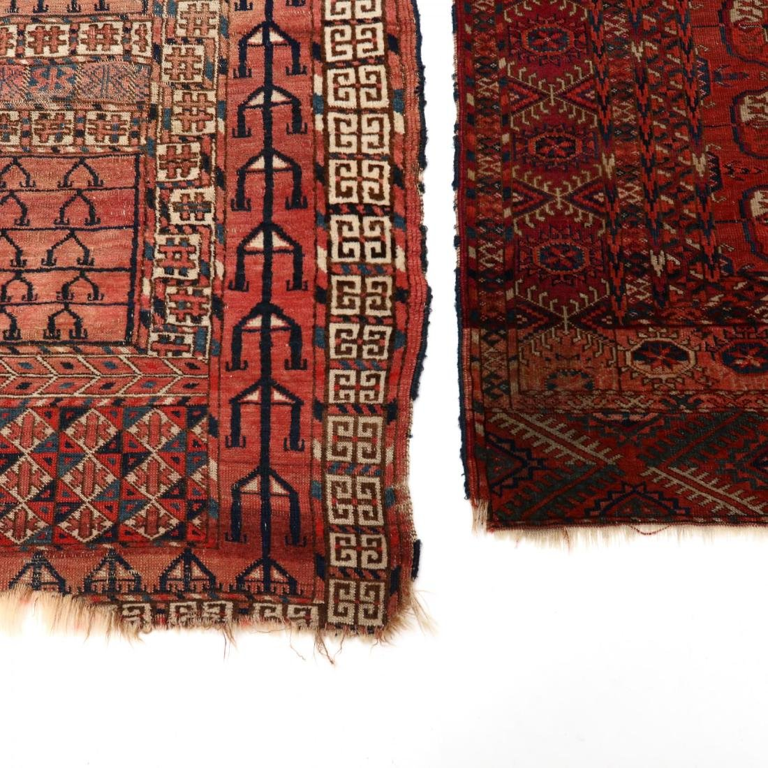 Two Turkman Rugs - 3